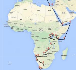 44AFRICA TOUR last